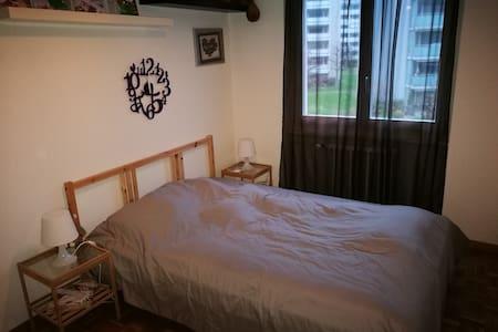 Einzelzimmer mit Doppelbett - Horw - Wohnung