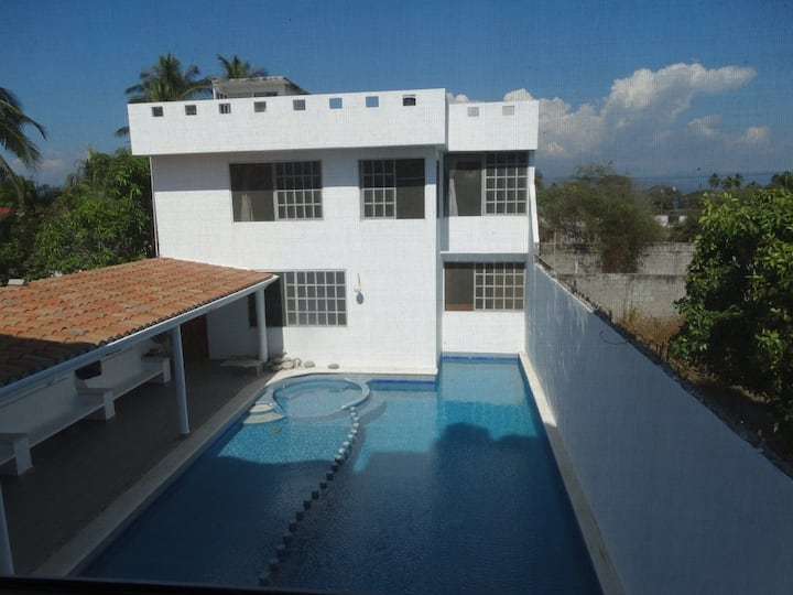 Hermosa Casa 2 Pie de la Cuesta Acapulco