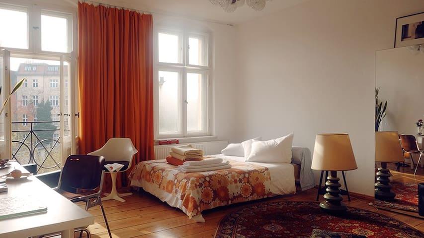 the wonderful large sunny room