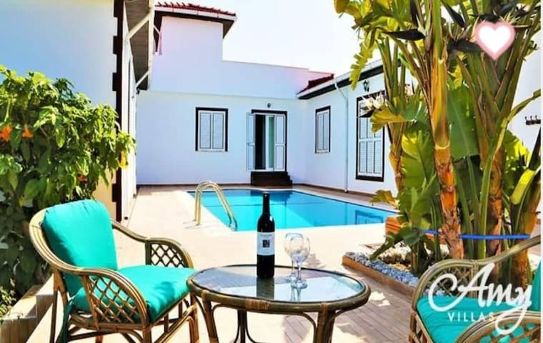 Butterfly villa, luxurious private pool & garden