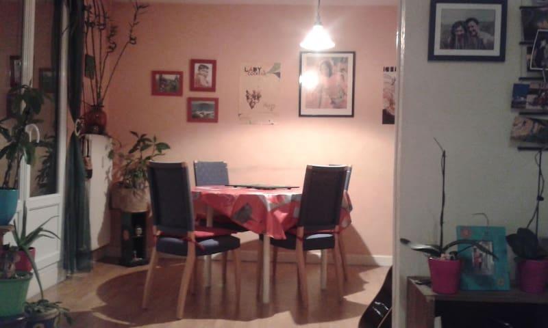 Chambre privée dans appartement T3 - Besançon - Apartemen