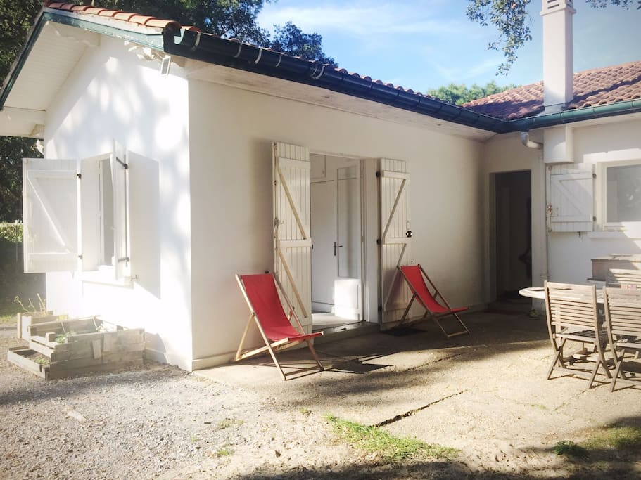 Casa surf57 close to the beach chambres d 39 h tes louer for Chambre hote hossegor