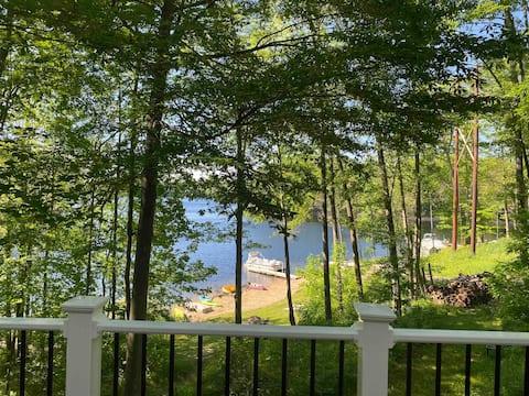 The Lerory Lake House
