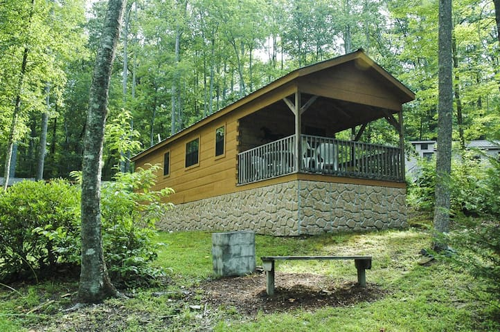 Mccrary cabin 2 cottages for rent in hendersonville for Cabins near hendersonville nc
