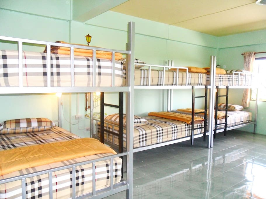 This 12 bed in dormitory has a balcony, seating area and air conditioning.  Room facilities: Balcony, City view, Air Conditioning, Seating Area, Fan, Bath, Shared Bathroom, Shared Toilet, Toilet paper