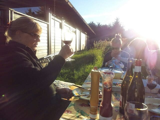 Hyggeligt norsk træsommerhus. Ål-hytte - Bindslev - Cottage