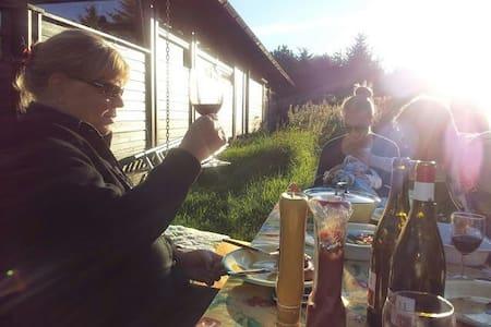 Hyggeligt norsk træsommerhus. Ål-hytte - Bindslev - Hytte