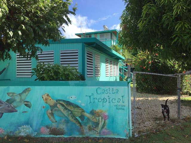 Two Bedroom House on Culebra