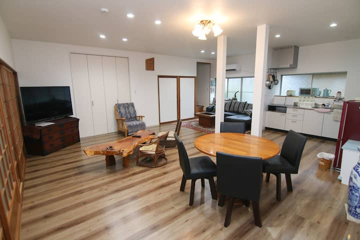 Private guest house with Hot spring!/5mins from Beppu IC/2 free parking/WiFi