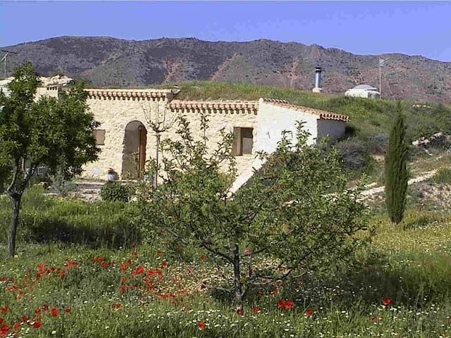 Beautiful Rural cavehouse & garden - Fuente Nueva - Grotta