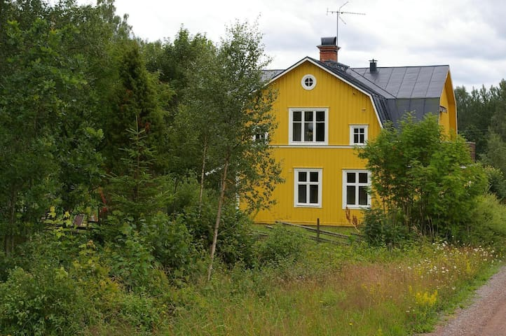 Spacious and cozy holiday home located in the middle of the nature of the highlands of the Smalish