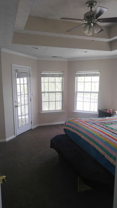 Very spacious Master bedroom