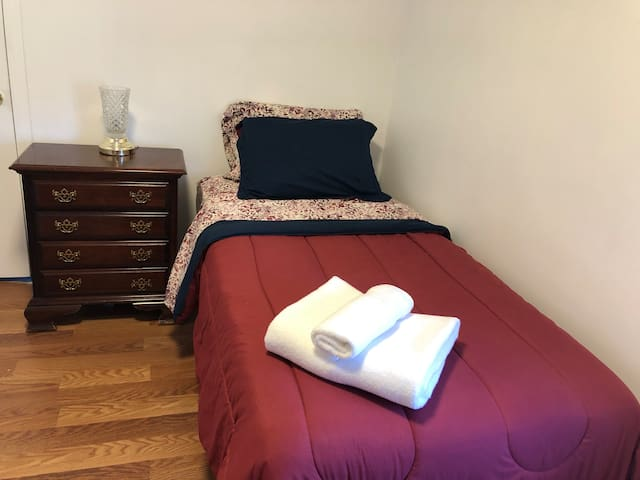 A comfortable room in a house