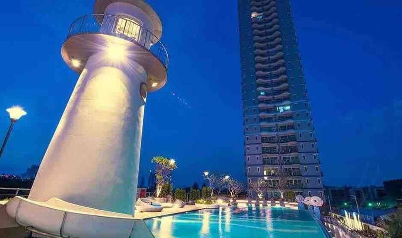 Supalai condo Pattaya nice studio longer discount