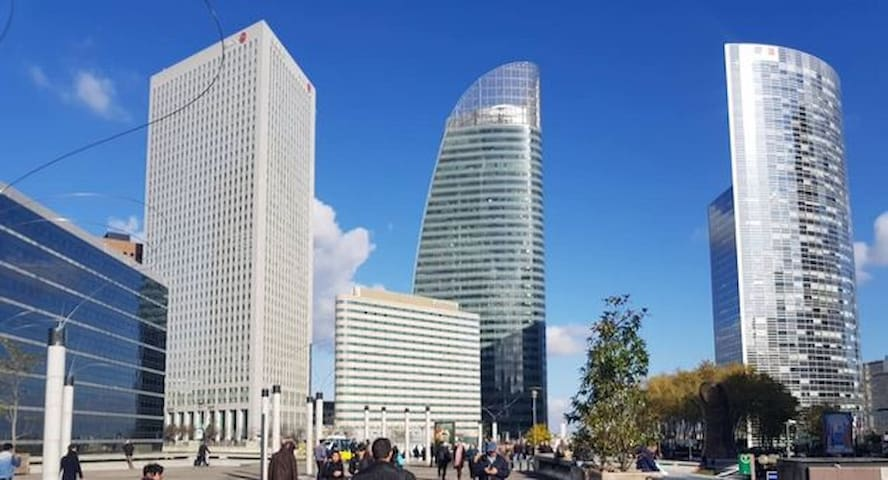 WELCOME TO LA DÉFENSE