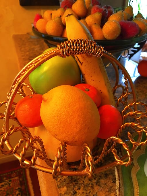 Your complimentary fresh fruit basket you will receive upon arrival.