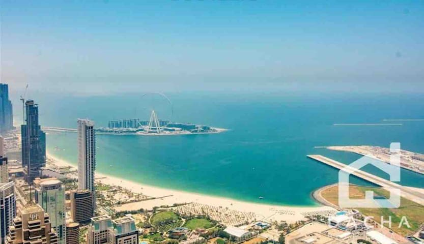 Dubai Marina, Beach/ Sea View, Metro, Private room