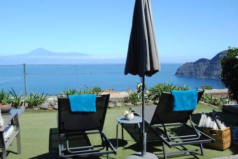 Ferienhaus mit herlichem Meerblick