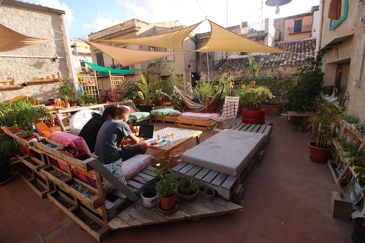 n Apartment in CENTER with TERRACE