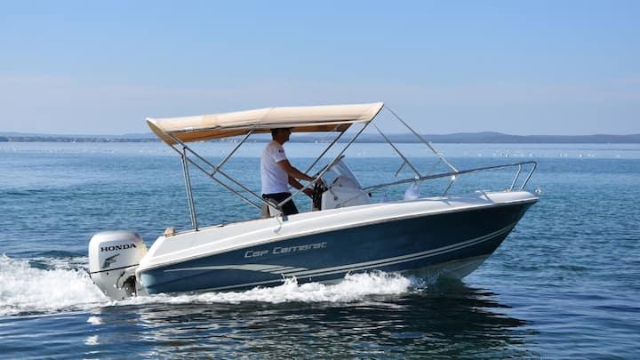 "Zadar Boat Rental ""Blue"""