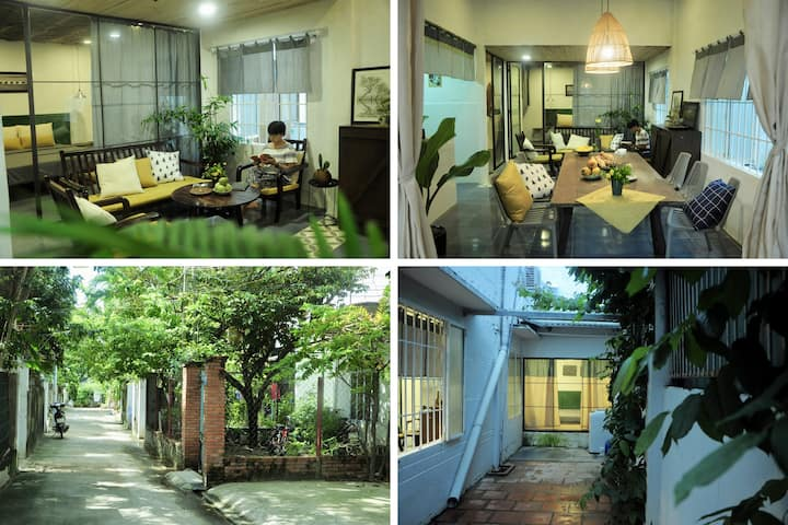 LONGAN HOUSE (3 bedrooms) - 600m to the beach