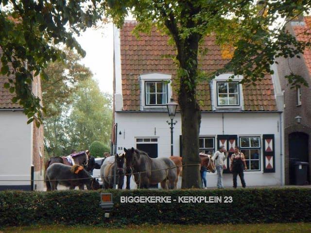 Monumentale woning in Biggekerke. - Biggekerke - Casa