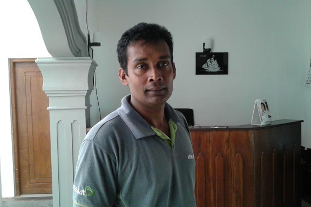 meet Sunanda your friendly host
