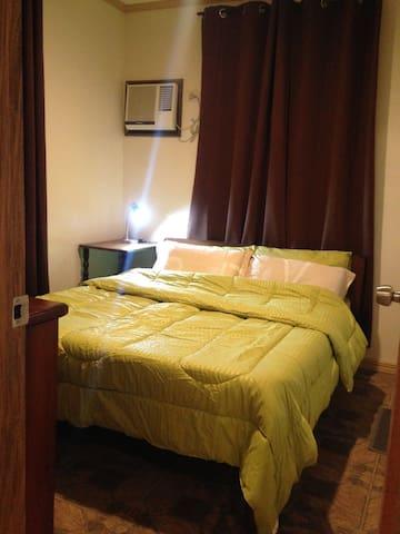 Bedroom inside kottage