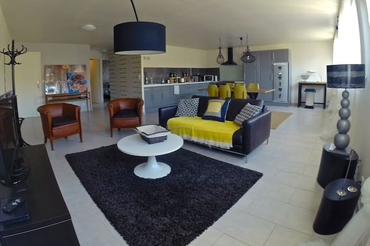 Charmant appartement situé au coeur du vignoble - Vrigny - Apartamento