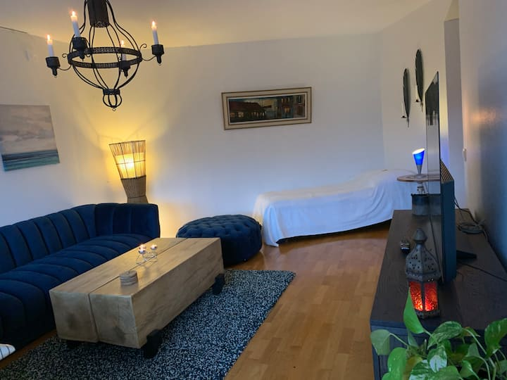 2 min walking distance from Lund Central Station.