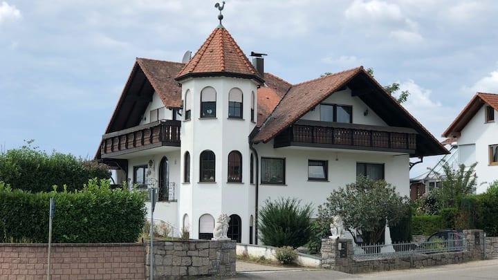 Wohnung mit Ausblick in der Ortenau