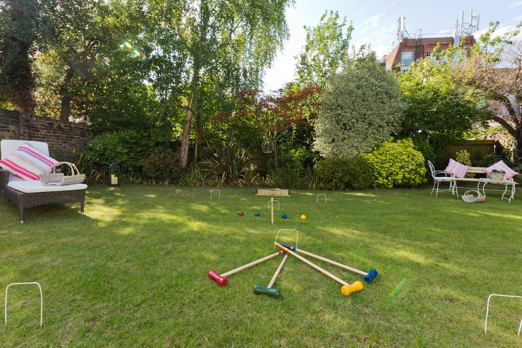 Fun and Games in the Garden