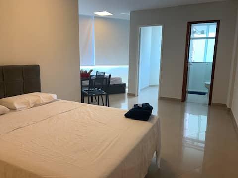 Apartamento Novo  Prox  Shopping Anália Franco n1