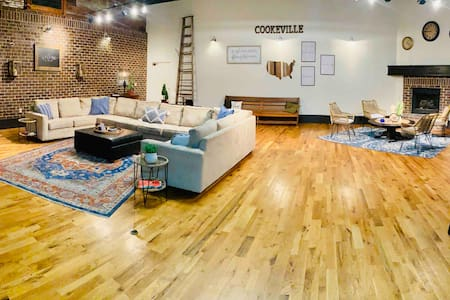 Big city loft with small town charm