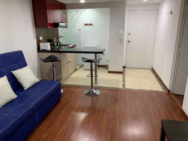 Apartamento con estratégica ubicación en Chapinero
