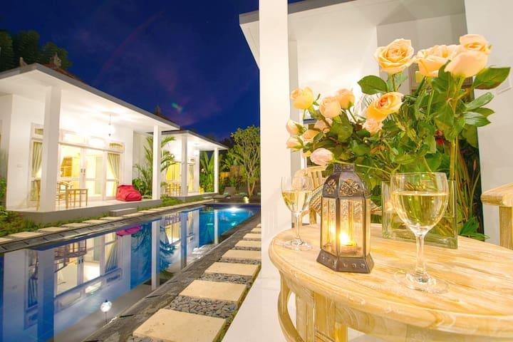 SUITABLE JIMBARAN HUGS in Two Villas with Pool