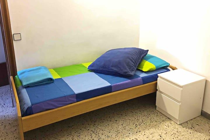 Habitación individual perfecta para estudiantes