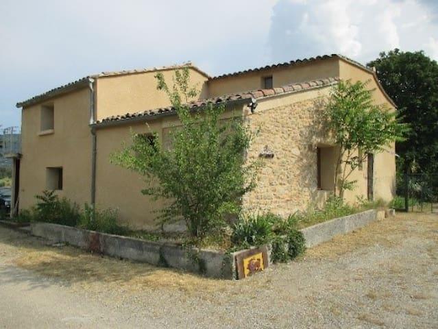 le gîte «les troiz'N» cadre agréable et champêtre - Veyras - Casa