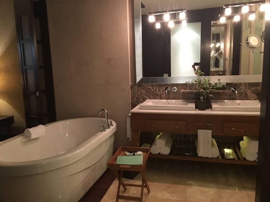 Master bath suite