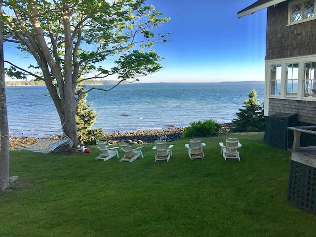 Sweeping Views with Private Beach in Castine