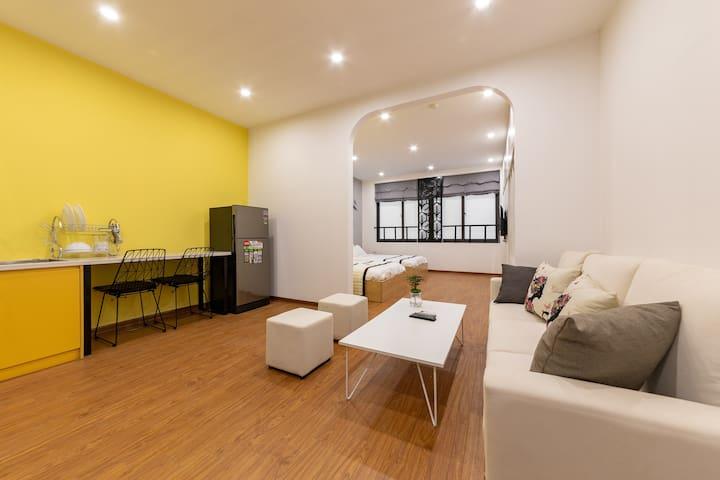 ❤️Minimalist Twin Room @ Luxury Serviced Apartment