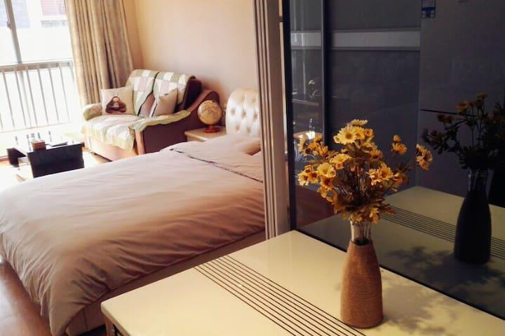 己舍·曲江公园旁公寓,靠近东关街、个园、何园,一套看湖景的公寓。 - 扬州市