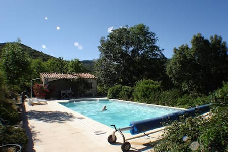 "Charming ""Vigneron"" Stone House Conversion & Pool - Saint-Chinian"