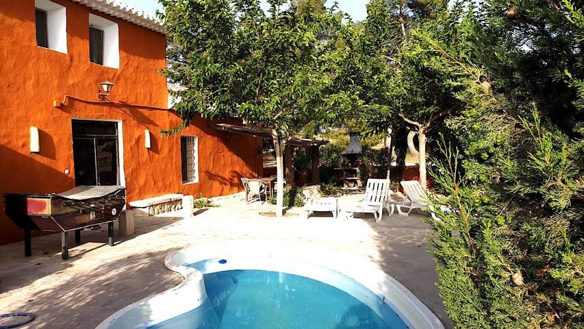 CASA TIA JUANA, casa rural del SXIX en Alicante.