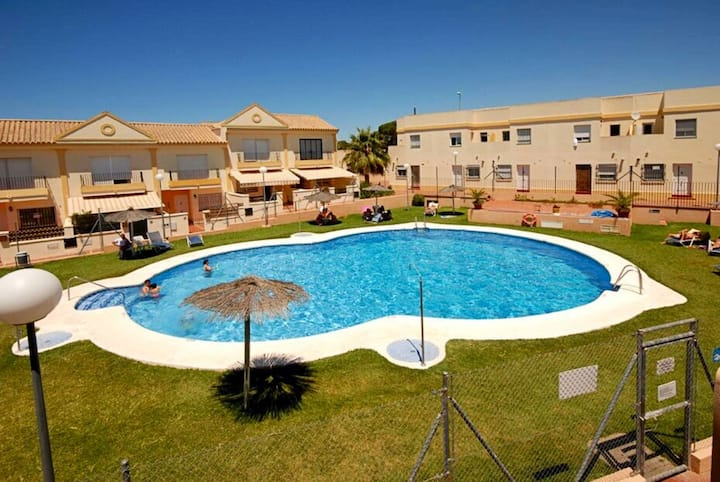 Wonderful apartment near the beach in  Chiclana fr