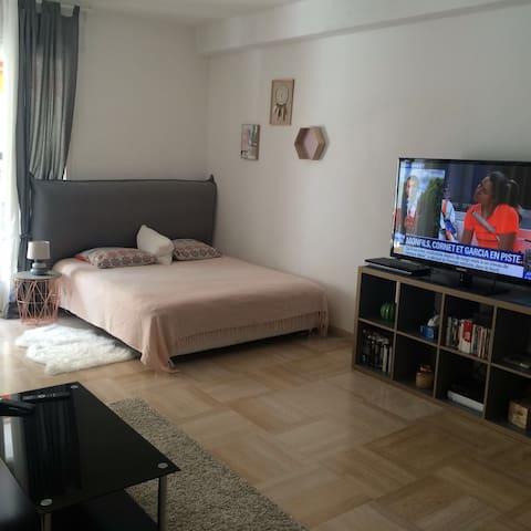 Spacious Studio with balcony in City Center
