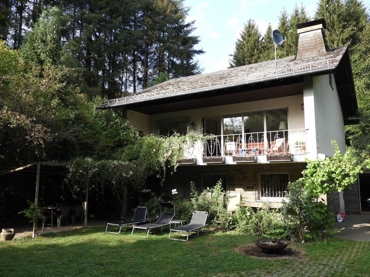 Vrijstaand vakantiehuis in de Vulkaaneifel