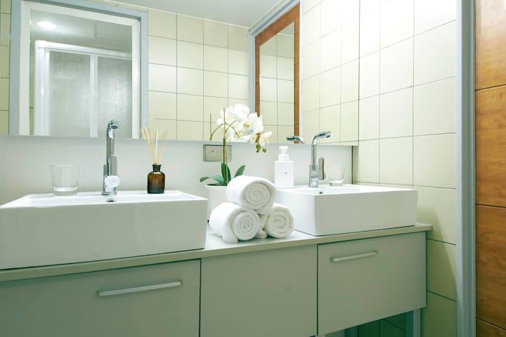 Dual Wash Basin