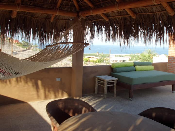 Stunning views of Todos Santos at Casa Buena Vista
