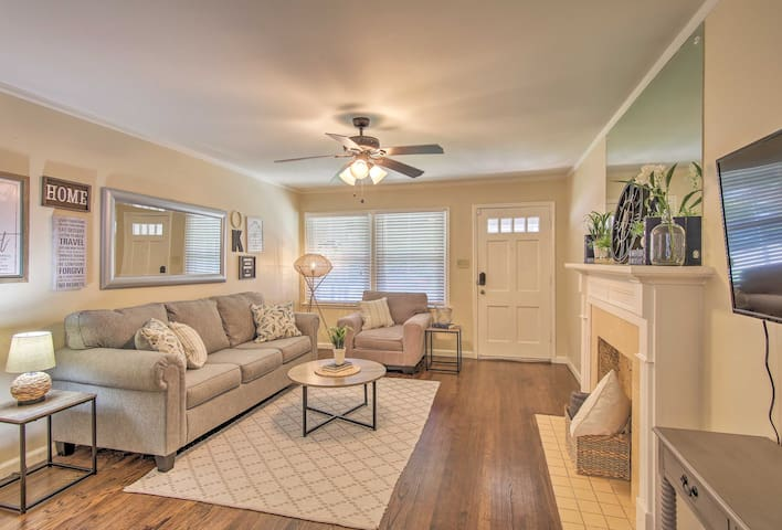 NEW-Updated Tulsa Home ~2 Mi to Blue Dome District